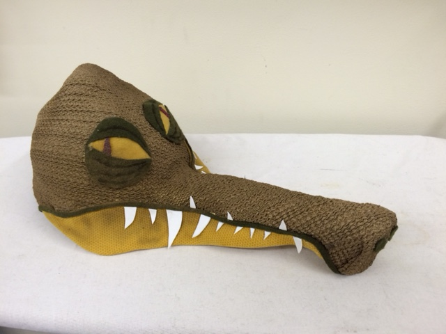 Fabric Covered Gator